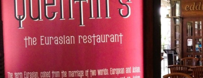 Quentin's The Eurasian Restaurant is one of Anil 님이 좋아한 장소.