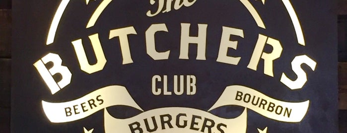 The Butchers Club is one of Lieux qui ont plu à Chuck.