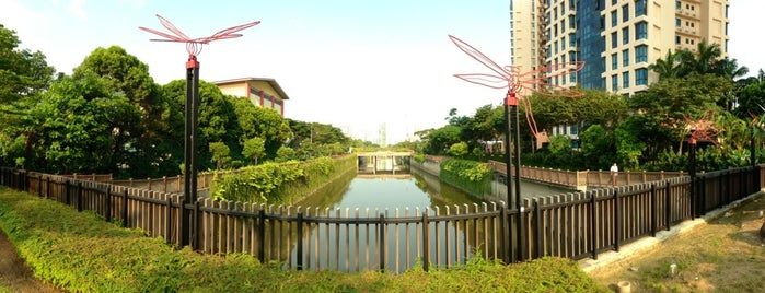 Alexandra Canal is one of Trek Across Singapore.