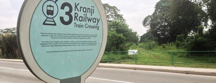 Kranji Railway Train Crossing | Kranji Heritage Trail is one of The Rail Corridor.