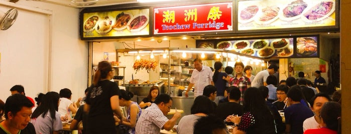 Joo Seng Teochew Porridge & Rice is one of Micheenli Guide: Supper hotspots in Singapore.