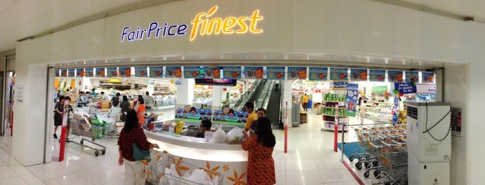 FairPrice Finest is one of Tempat yang Disukai MAC.