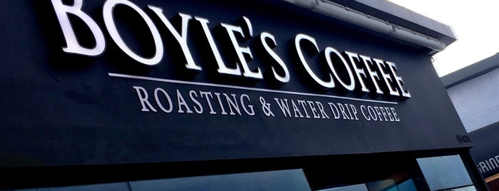 Boyle's Coffee is one of Lugares favoritos de Chuck.