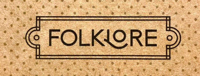Folklore is one of Tempat yang Disimpan Maynard.