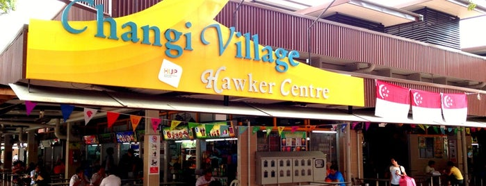 Changi Village Hawker Centre is one of สถานที่ที่ Christine ถูกใจ.