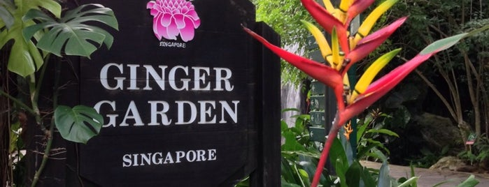 Ginger Garden is one of Singapore 2019.