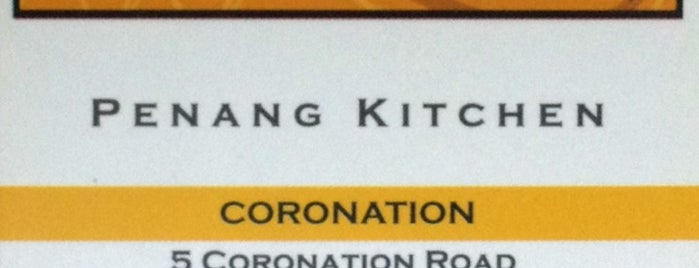 Penang Kitchen is one of Singapore Food.