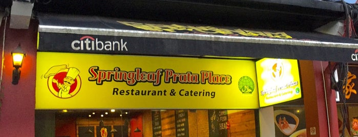 Springleaf Prata Place is one of [Planning] Singapore - To Eat.