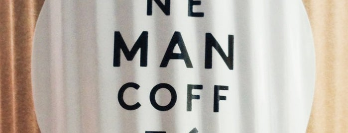 One Man Coffee is one of Great Coffee in Singapore.