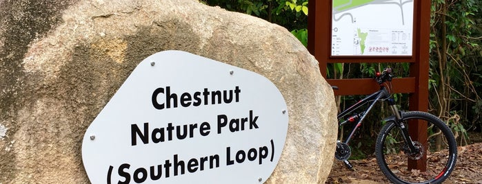 Chestnut Nature Park (Southern Loop) is one of Lieux qui ont plu à Christine.