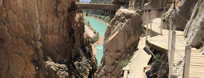 El Caminito del Rey is one of Far Far Away.