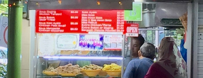 Warong Pak Sapari Mee Soto & Mee Rebus is one of Micheenli Guide: Best of Singapore Hawker Food.