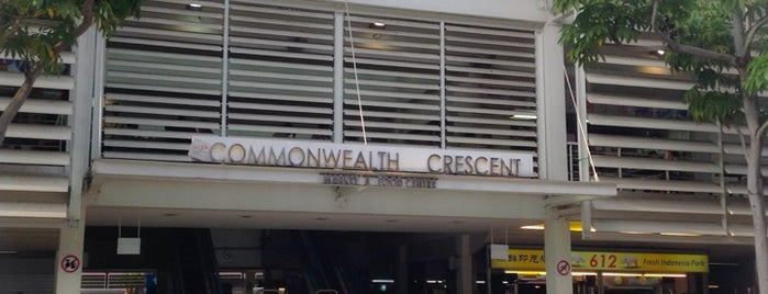 Commonwealth Crescent Market & Food Centre is one of Hawker Centres in Singapore.