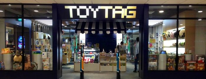 ToyTag is one of Gespeicherte Orte von Amanda.