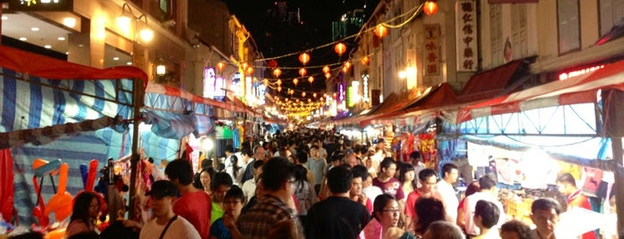 Temple Street is one of Chinatown C.