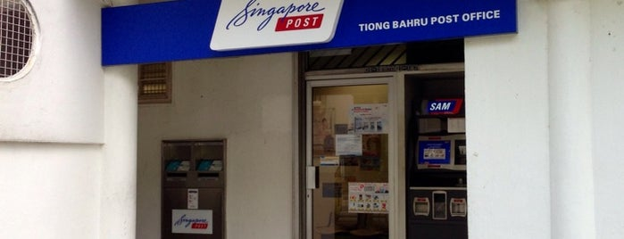 Singapore Post (Tiong Bahru Post Office) is one of Singapore.