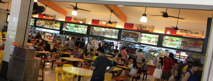 Wan Shun Foodcourt is one of le 4sq with Donald :).