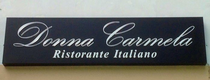 Donna Carmela Ristorante Italiano is one of Project #2 singa.
