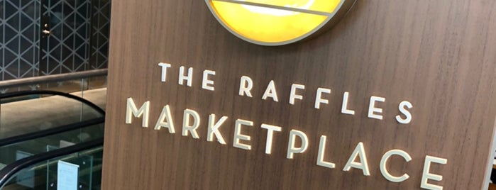 The Raffles Marketplace is one of Singapore.