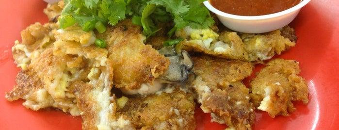 后港六条石 Simon Road Oyster Omelette is one of Singapore.