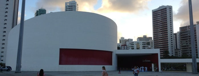 Parque Dona Lindu is one of Oscar Niemeyer [1907-2012].