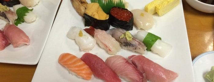 Sen Nari Sushi is one of LA Haunts.