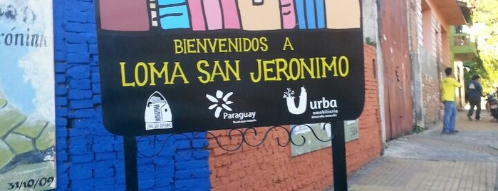 Loma San Jerónimo is one of Paraguay.