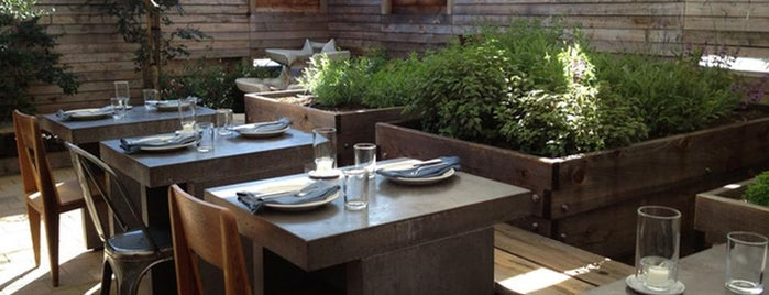 Bar Agricole is one of 14 Restaurants in SF Where You'll Hang Outside.