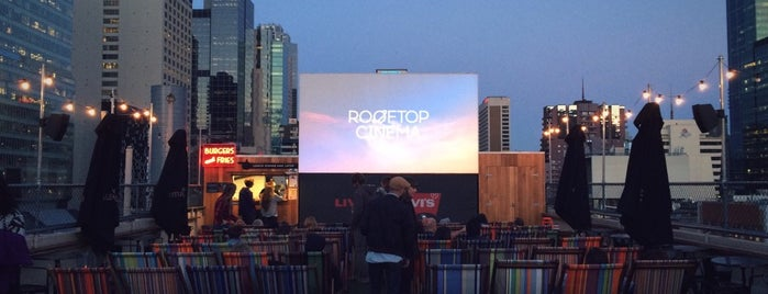 Rooftop Cinema is one of Travel Guide to Melbourne.