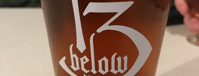 13 Below Brewery is one of Posti che sono piaciuti a Andy.