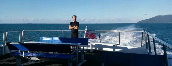 Flynn Reef is one of Orte, die Jacquie gefallen.
