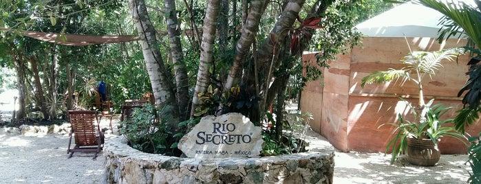 Río Secreto is one of Locais salvos de Dessi.
