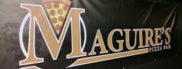 Maguire's Pizza Bar is one of Posti salvati di Nichola.