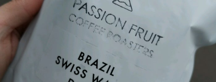 Passion Fruit Coffee Roasters is one of Manchester.