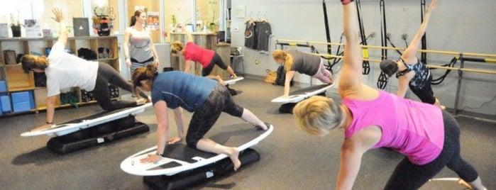REV Pilates Gym is one of Lugares guardados de Maggie.