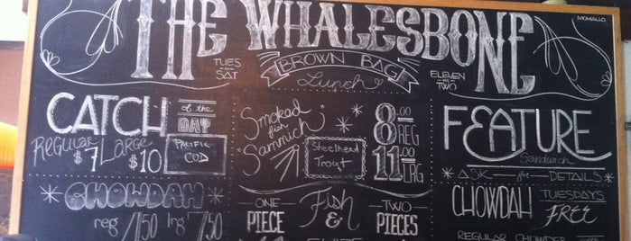 Whalesbone Sustainable Oyster and Fish Supply is one of Ottawa.