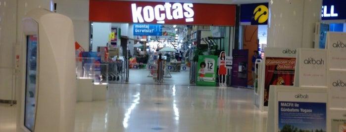 Koçtaş is one of สถานที่ที่ IŞIK 🌝🌚 ถูกใจ.