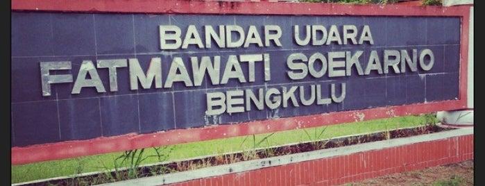 Bandara Fatmawati Soekarno (BKS) is one of Airports All Around The World.
