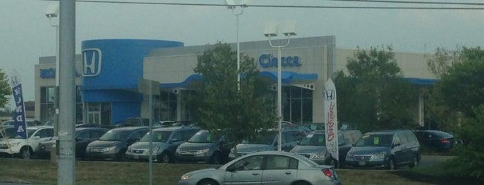 Ciocca Honda is one of Kimmi : понравившиеся места.