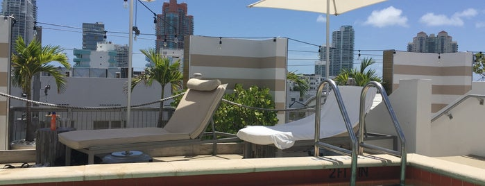 Sense Beach House Rooftop Pool is one of Miami.