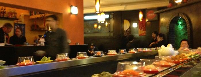Sakana Sushi is one of Roma locali: checked.