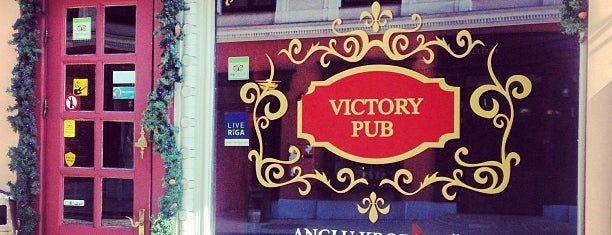Victory Pub is one of Rīga.