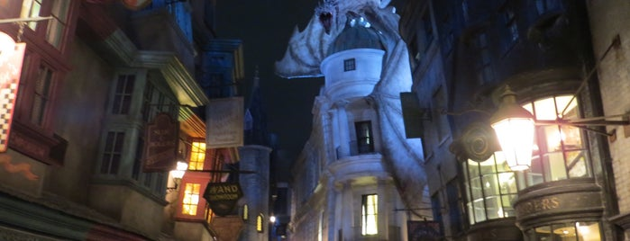 The Wizarding World Of Harry Potter - Diagon Alley is one of Max 님이 좋아한 장소.