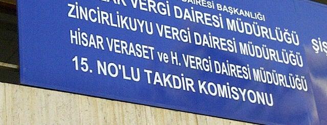 Maslak Vergi Dairesi is one of Tempat yang Disukai ENES.