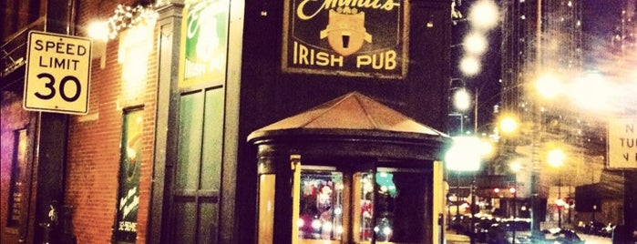 Emmit's Irish Pub is one of Chicago Magazine's 100 Best bars 2013.