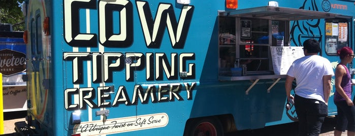 Cow Tipping Creamery is one of Austin 2014.