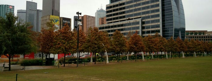 Klyde Warren Park is one of The Foursquare Insider's Perfect Day in Dallas.