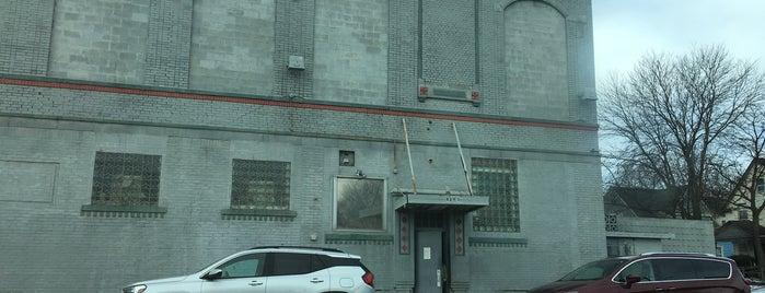 Schvitz Health Club is one of Detroit.