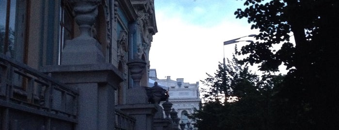 Особняк ім. Л.Я. Полякова / Polaykov's Mansion is one of Kiev.