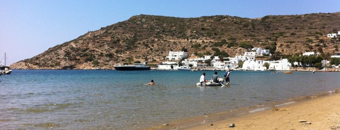 Vathy Beach is one of Sifnos, Greece.